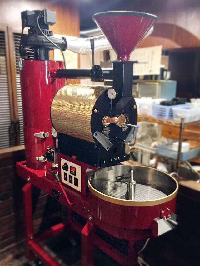 大阪市淀川区に2kg焙煎機を設置しました。