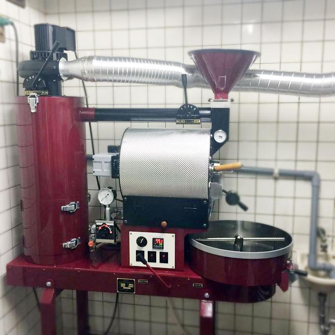 岐阜県岐阜市に2kg焙煎機を設置しました。