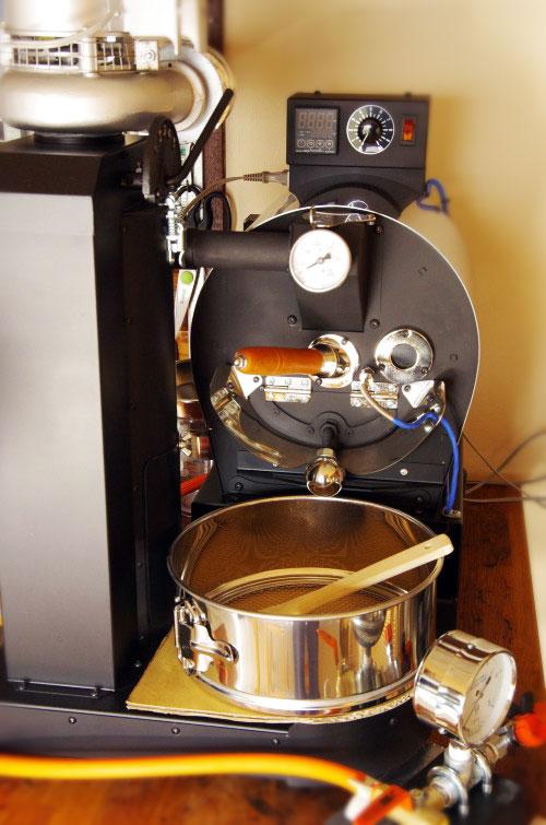 岩手県盛岡市にアポロ焙煎機を設置しました。