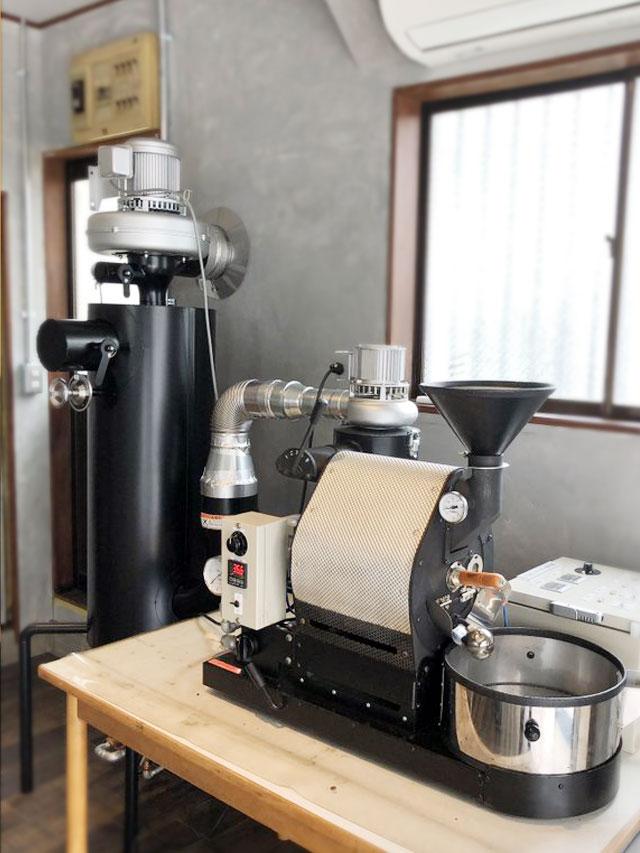 東京都杉並区でナナハン焙煎機にアフターバーナーを設置しました。