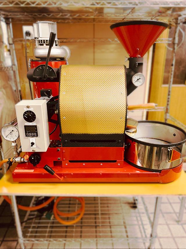 山形県天童市にナナハン焙煎機を設置しました。