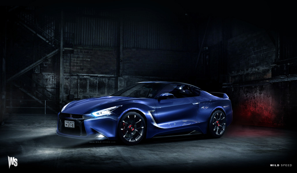 The sports car segment is also listed in the presentation with three models to its name, in this order: Nissan Gt R R36 Wild Speed