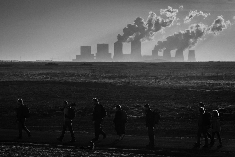 Bruinkoolmijn , deel van een wolventerritorium Photo: Tom Palmaers
