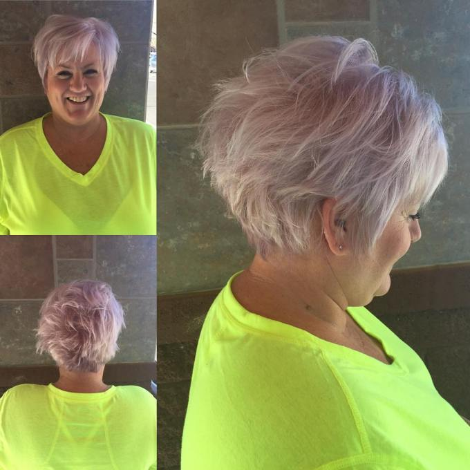 28 edgy and elegant haircuts for women over 50 - wild about beauty