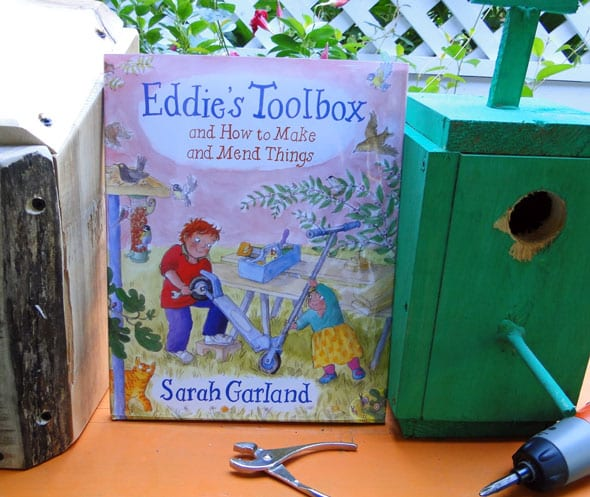 Eddie's toolbox and birdfeed