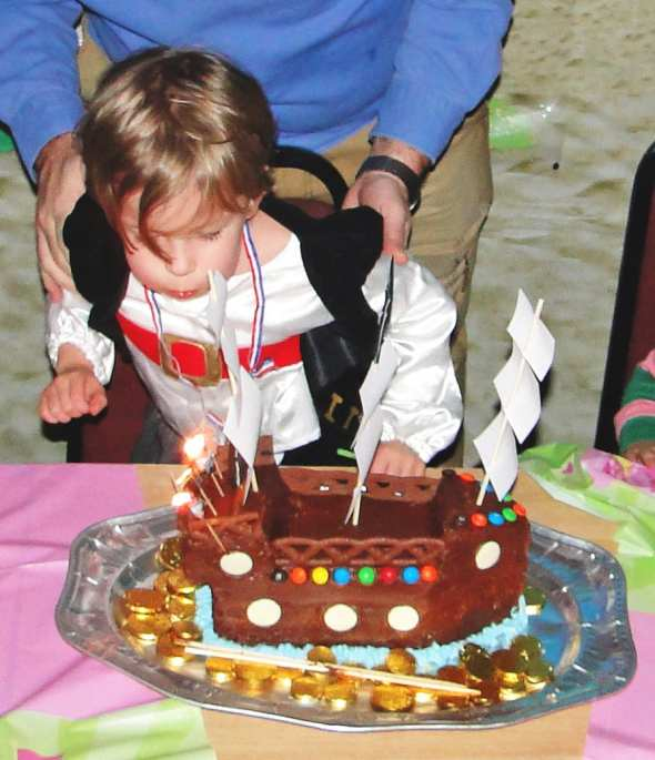 Pirate Ship Birthday Cakes Women S Weekly