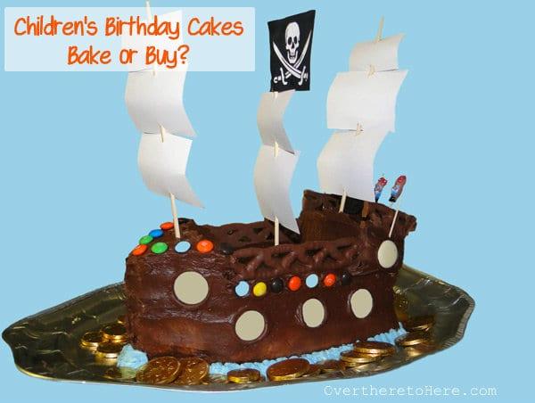 Children S Birthday Cakes Part 1 Bake With Easy