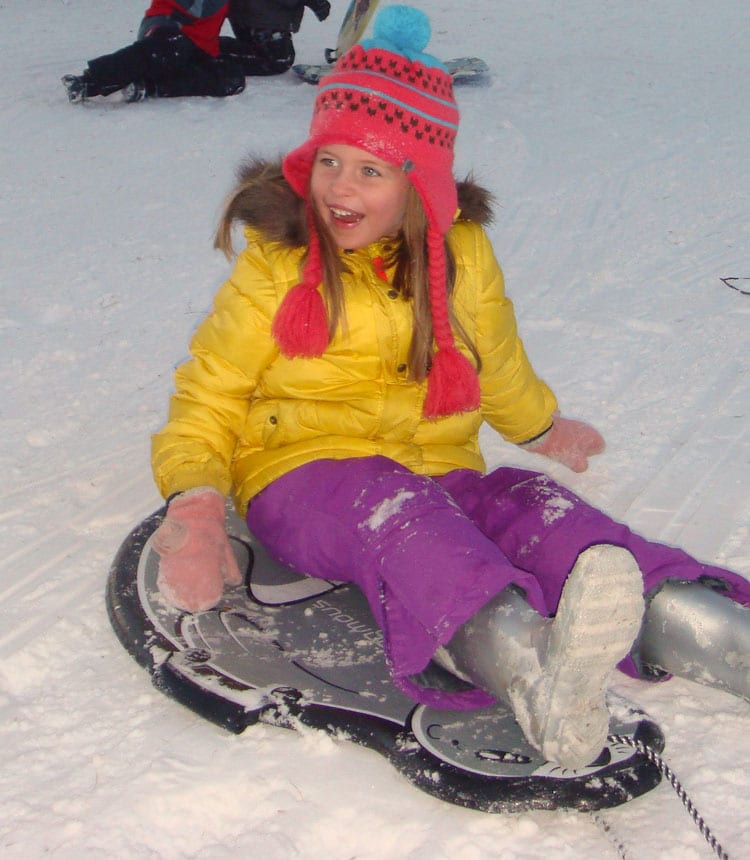 smiling sled kids hamptons