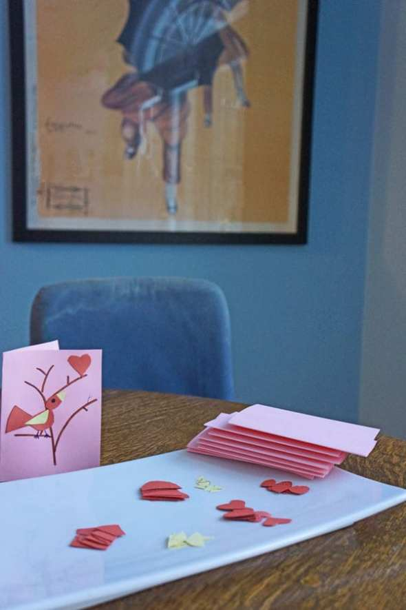 cut outs template valentine cards