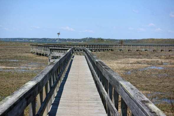 Munn Point boardwalk Southampton