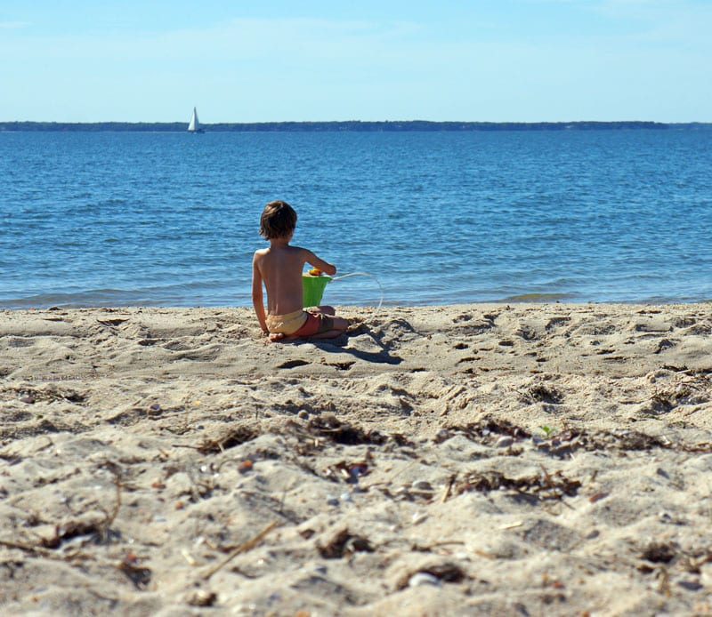 Beach play sailboat Long Beach Hamptons