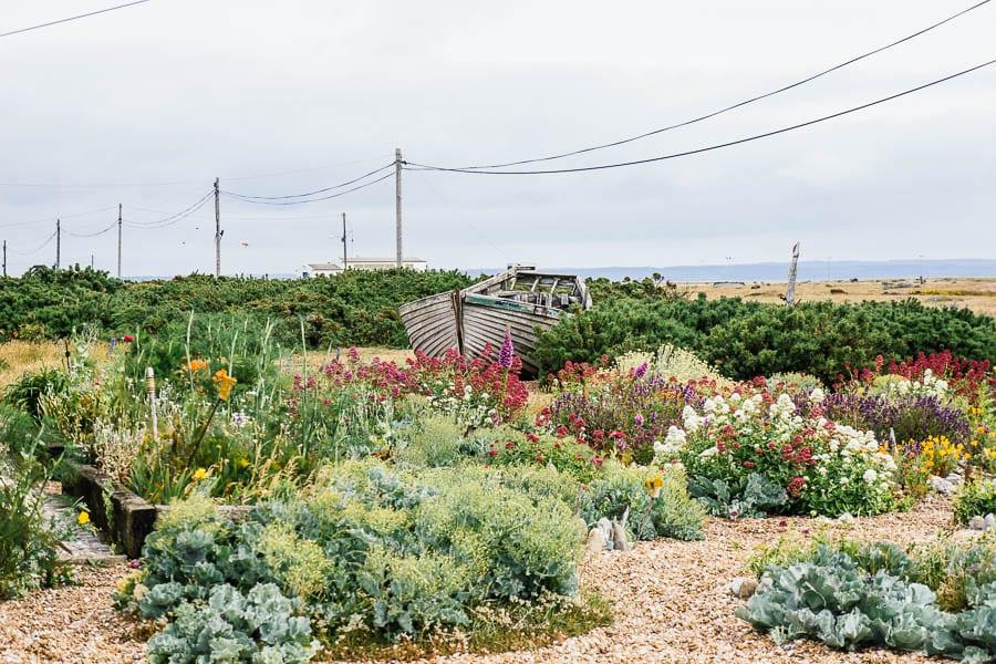 Derek Jarmans Garden front garden