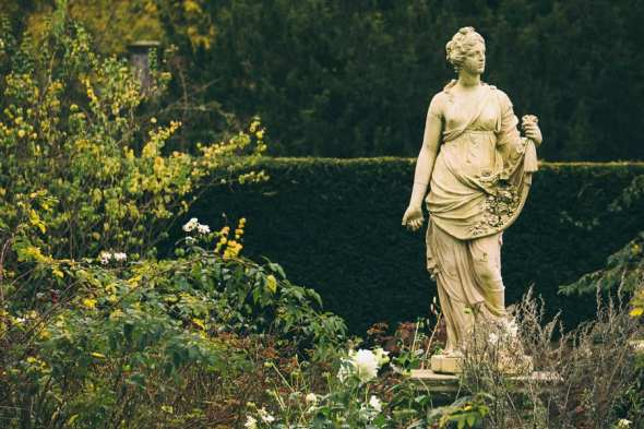 Groombridge Place Statue