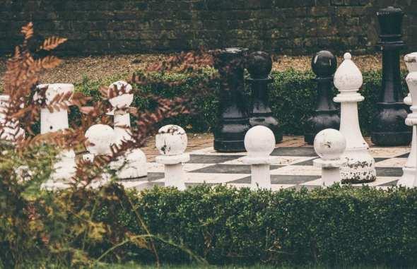 Groombridge Place chess board