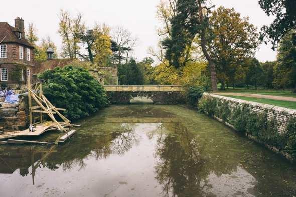 Groombridge Place moat