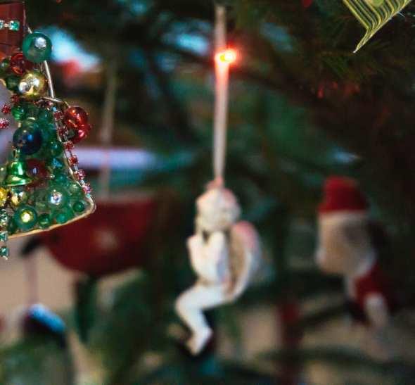 Angel and bells christmas decor