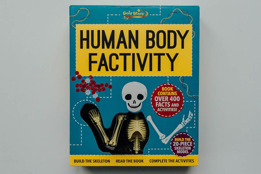 The Amazing Human Body Factivity Box Set