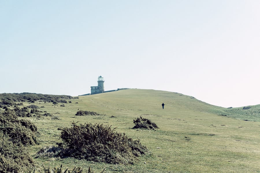 Walk with a view Belle Tout lighthouse