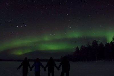 Sharing the Northern Lights