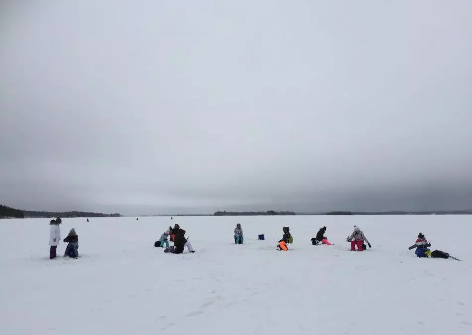 The Ice fishing season begins!