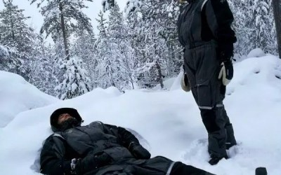 Rest time in the Arctic!