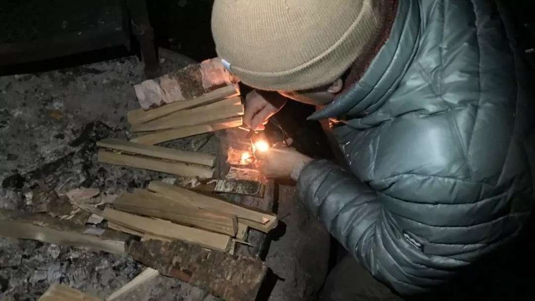 The master of fire-making