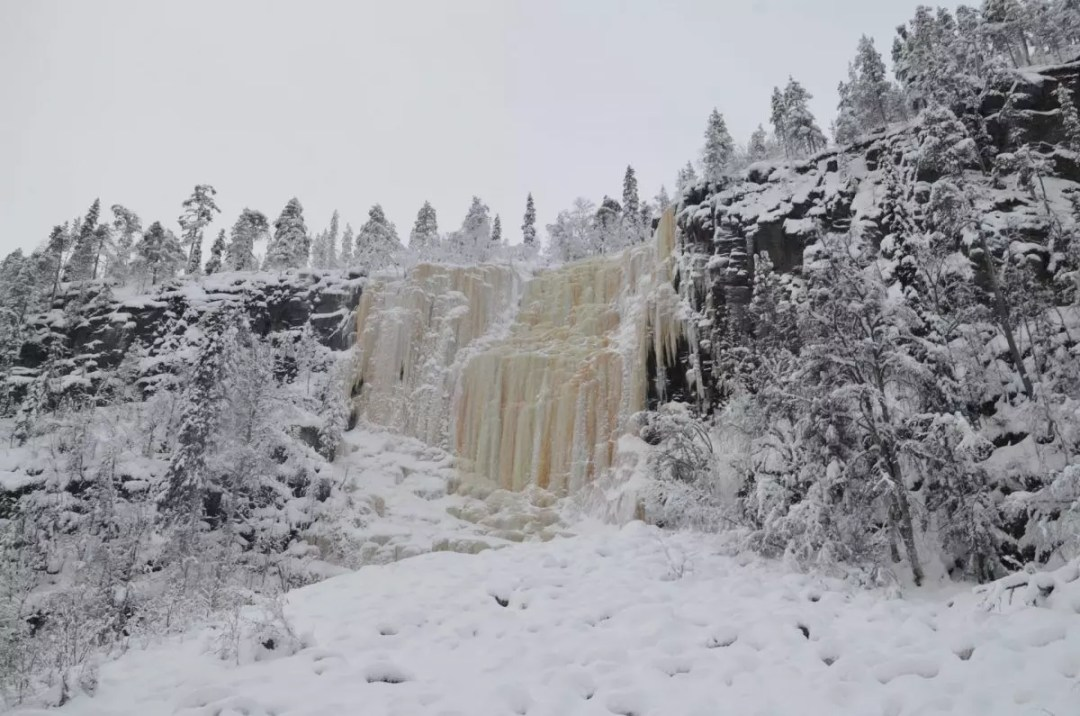Korouoma Canyon Waterfalls