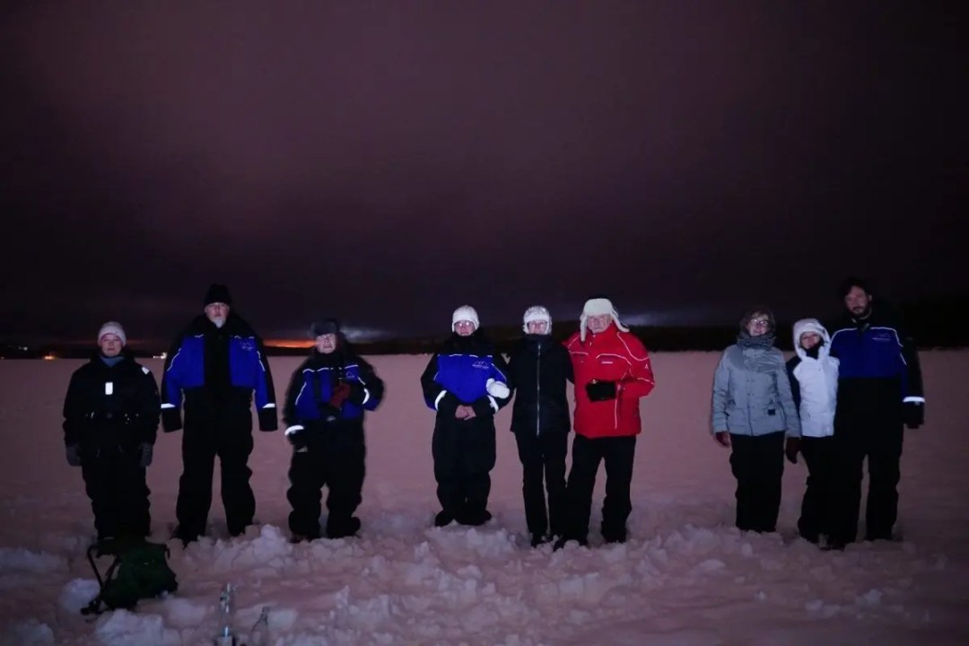 Our lovely Northern Lights hunters