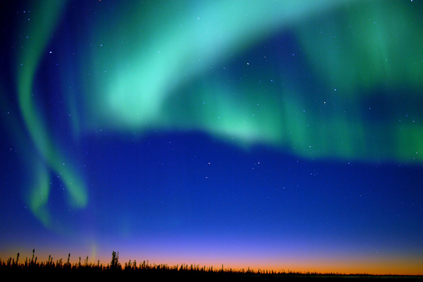 Best Time See Northern Lights Fairbanks