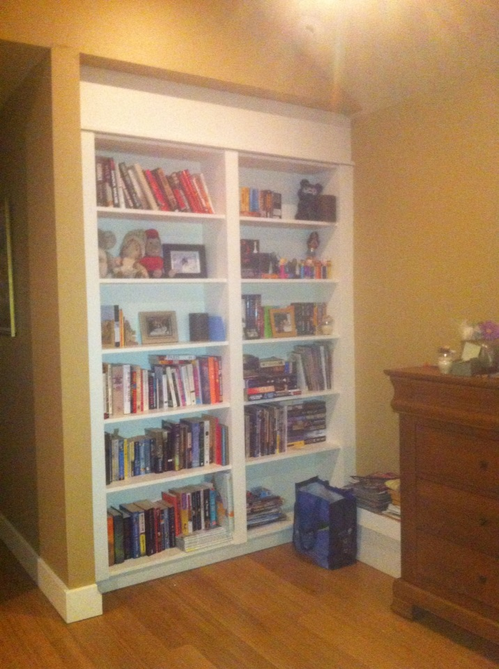 Ever since the family moved in, they have always admired what they thought was a built-in bookcase.