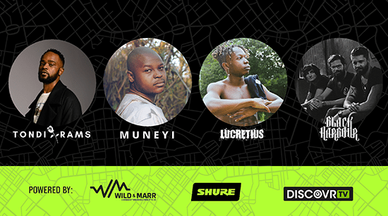 Discovr Shure's Artists come back for one more performance using some of Shure's best microphones in The Experience Centre at Wild & Marr!
