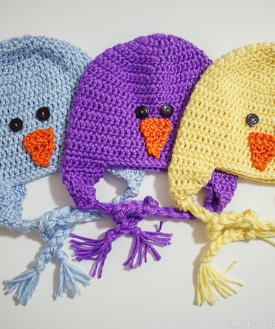 Spring Chicks | Crochet Earflap Hat Pattern {Free!}
