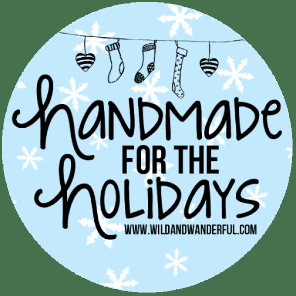 Handmade holidays square