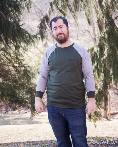 Jerry's Raglan Shirt by Coles Creations