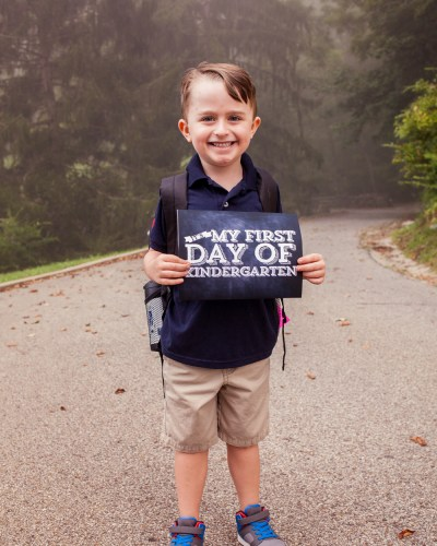 Louis' First Day of KINDERGARTEN!