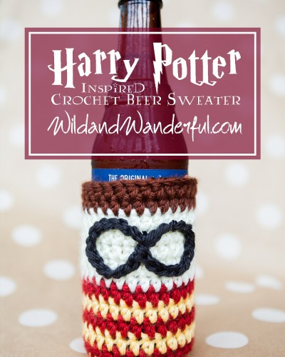 Harry Potter-Inspired Beer Sweater :: Free Crochet Pattern