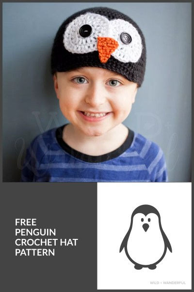 Penguin Hat :: Free Crochet Pattern (All Sizes!)