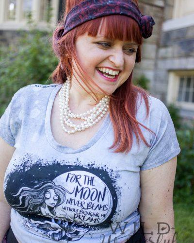 I'm Just a Poe Girl | BackStitch Fabrics