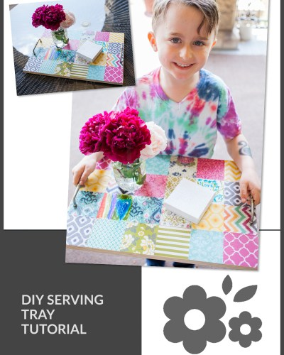 DIY Serving Tray Tutorial