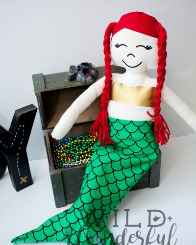 Barnacle Buddies | Mermaid Stuffie :: M4M 12 Days of Christmas Freebies