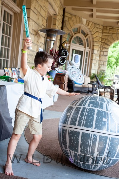 May the Force Be With Lou :: Star Wars Birthday Party