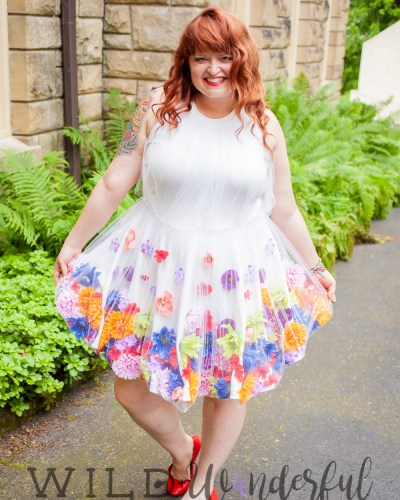 My Happy Floral Dress :: 10 Year Anniversary Attire
