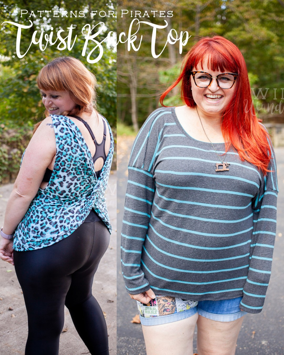 Twist Back Top by Patterns for Pirates