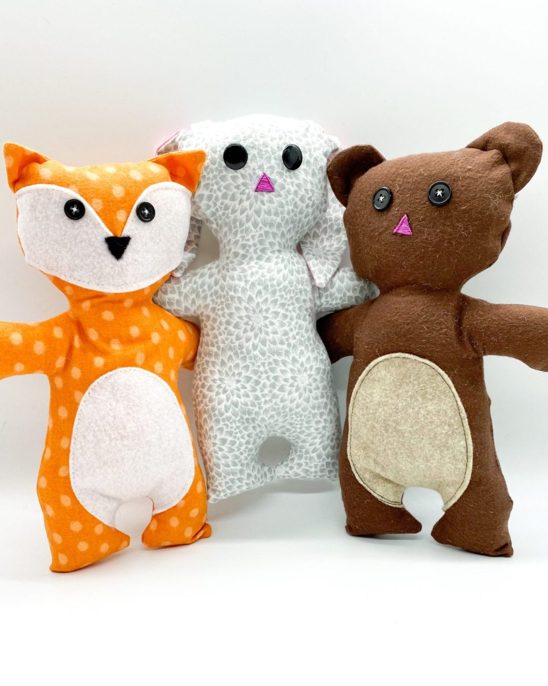 Make a New Friend (or Three!) with P4P Plushie Pals!