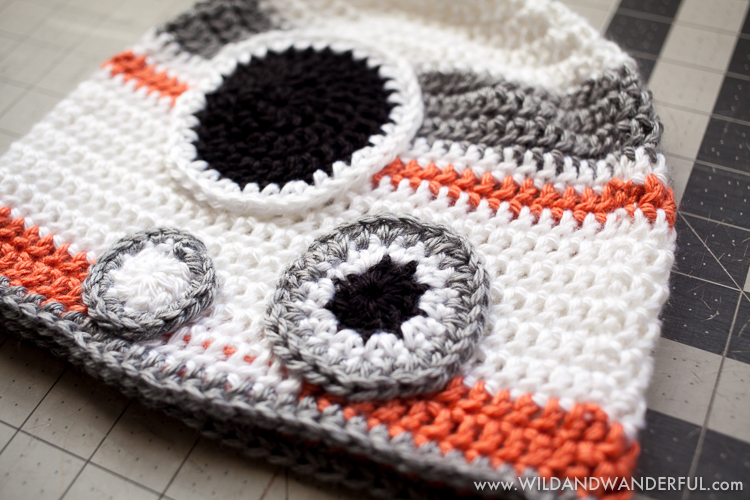 Amigurumi Star Wars Patterns Free : Bb inspired hat free crochet pattern