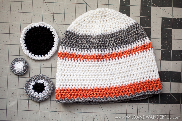 Bb 8 Inspired Hat Free Crochet Pattern Wildwanderful