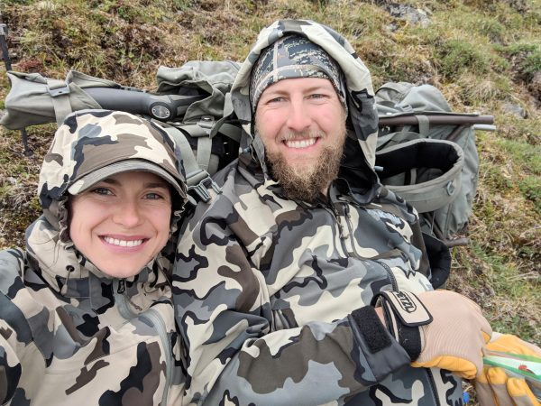 Gina Ciolkosz on Delta Alaska Dall Sheep Hunt