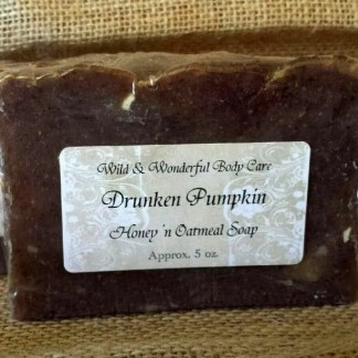 Drunken Pumpkin Honey 'n Oatmeal Soap