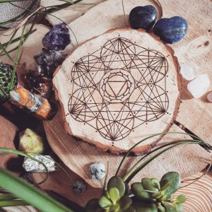 The Solar Plexus Chakra Crystal Grid