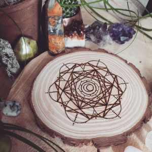 The Sacral Chakra Crystal Grid